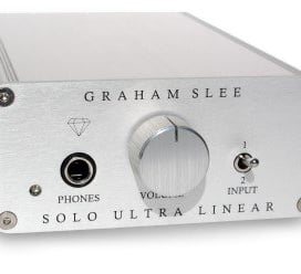 [12.12]Graham Slee Solo Ultra-Linear Headphone Amplifier + PSU1