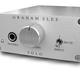 [12.12] Graham Slee Solo SRG II - Headphone Amplifier + PSU1