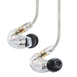 Shure SE215 (Clear) Sound Isolating™ Earphone หูฟังชนิดสอด In-ear Monitor