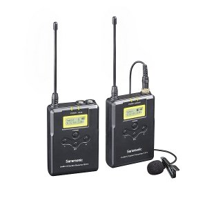 Saramonic UWMIC15 16-Ch Digital UHF Wireless Lavalier Microphone System (RX15+TX15)