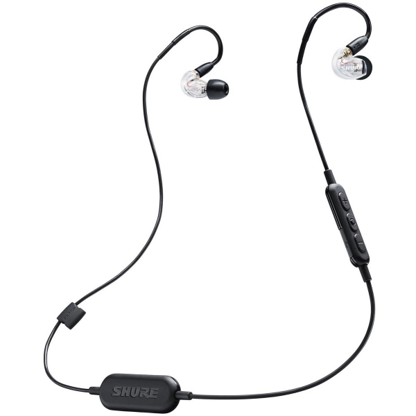 Shure SE215 Wireless Sound Isolating Earphones with Bluetooth Enabled Communication Cable