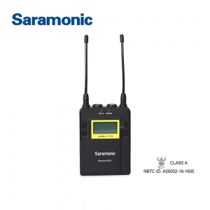 Saramonic UwMic11 RX11 11-Channel New Digital UHF Wireless Lavalier Microphone ตัวรับสัญญาณรุ่น RX11