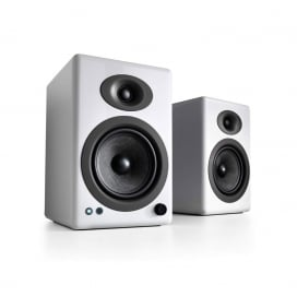 AudioEngine A5+ ลำโพงไร้สาย Wireless Speaker System รองรับ Bluetooth 5.0 aptX HD 24-bits Upsampled