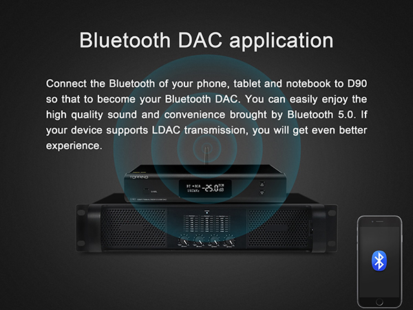 Topping D90 Full Balanced USB DAC ชิปเซ็ต AK4499 XU208 รองรับ PCM 32bit/768k DSD512 Bluetooth 5.0