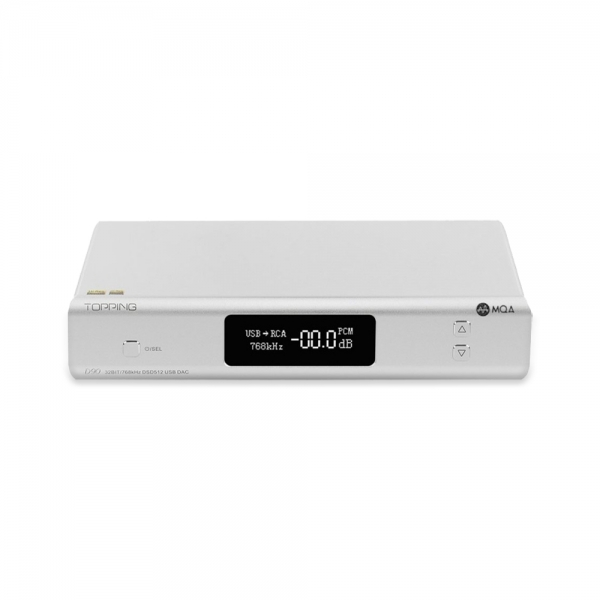 Topping D90 MQA Full Balanced USB DAC ชิปเซ็ต AK4499 XU208 รองรับ PCM 32bit/768k DSD512 Bluetooth 5.0